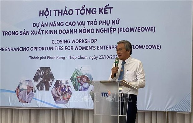 Dutch-funded project helps promote women empowerment hinh anh 1