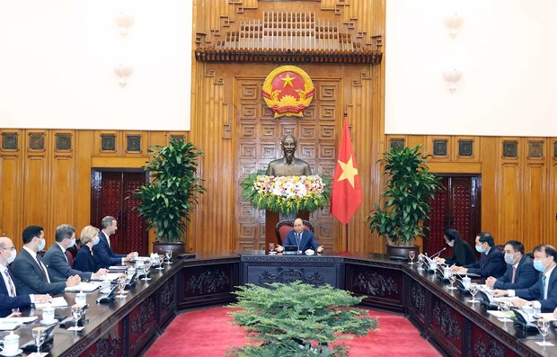 Vietnam hopes for stronger partnership with US: PM hinh anh 1
