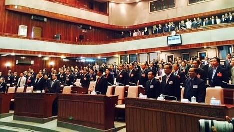 Lao legislature's 10th session opens hinh anh 1
