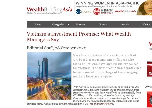 UK managers speak of Vietnam investment prospects hinh anh 1