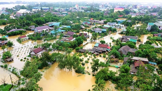 EU provides 1.3 million EUR to assist flood victims in central Vietnam hinh anh 1