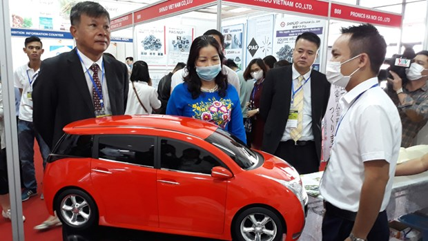 Support industry fair underway in Hanoi hinh anh 1