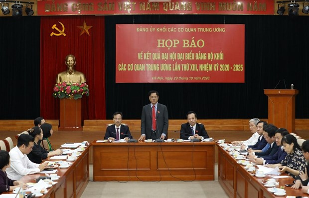13th Congress of Party Organisation of Central Agencies' Bloc closes hinh anh 1