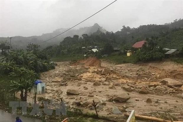 UN Secretary General sends sympathy over flood damage in central region hinh anh 1