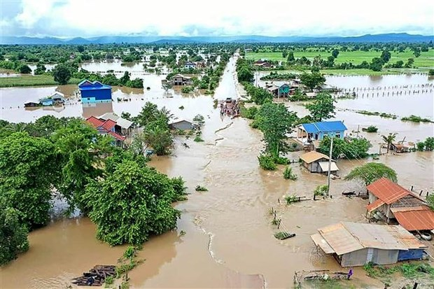 EU grants 470,000 USD to assist flood survivors in Cambodia hinh anh 1