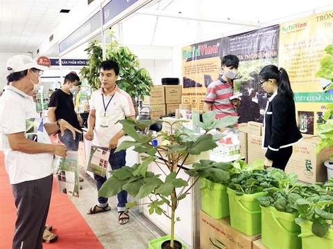 Agro-forestry-fishery farming and processing technology expo opens hinh anh 1