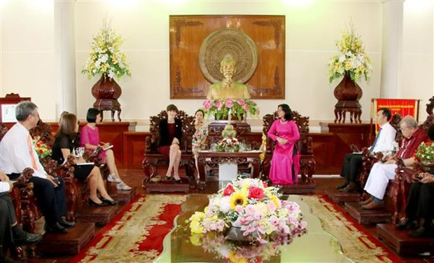 Can Tho city steps up cooperation with UK hinh anh 1