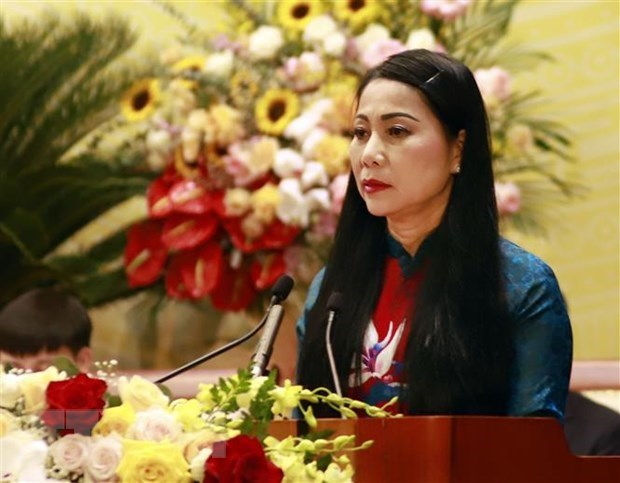 Party Congresses in review: Nine female provincial Party Committee Secretaries elected hinh anh 1