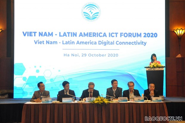 ICT helps connect Vietnam, Latin American countries: forum hinh anh 1