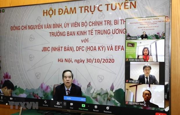 Vietnam seeks to boost economic ties with Japan, US, Australia hinh anh 1