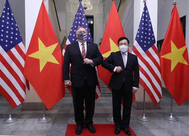 Vietnam values comprehensive partnership with US: Deputy PM hinh anh 1