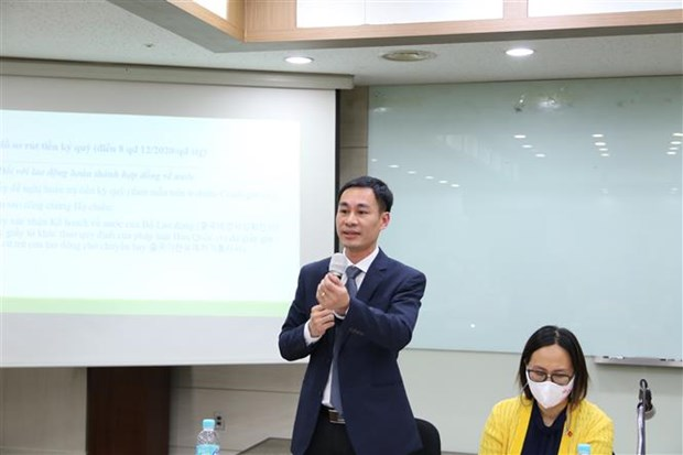 Workshop to provide new regulations for Vietnamese workers in RoK held hinh anh 1