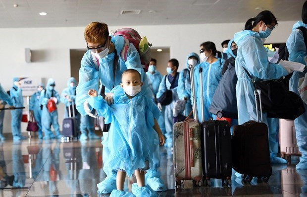 More Vietnamese citizens return home from abroad hinh anh 1