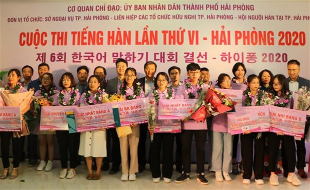 Korean language contest in Hai Phong bolsters cultural exchanges hinh anh 1