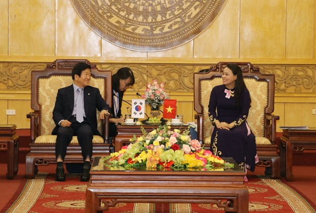 Korean National Assembly Speaker visits Ninh Binh province hinh anh 1
