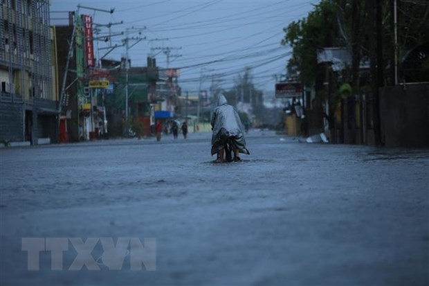 At least 10 killed, 390,000 displaced as Typhoon Goni hits Philippines hinh anh 1