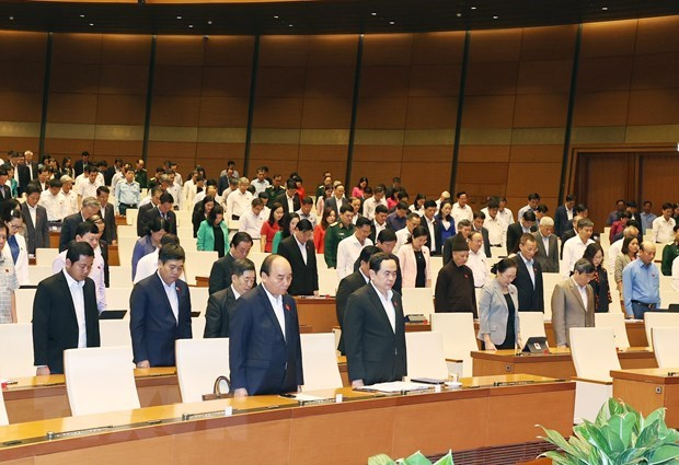 NA begins second phase of 10th session, discussing socio-economic issues hinh anh 1