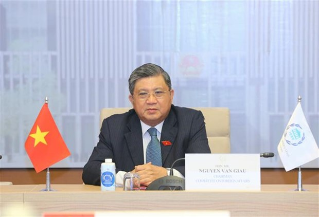 Vietnam attends IPU Governing Council's virtual meeting hinh anh 1