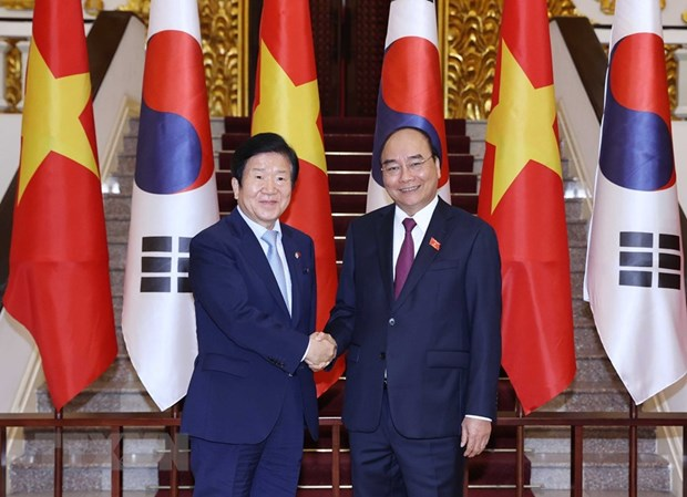 Prime Minister hosts RoK NA Speaker hinh anh 1