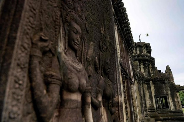 Foreign visitors to Cambodia's UNESCO-recognised Angkor drop sharply hinh anh 1