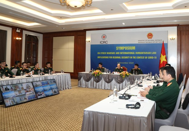 Vietnam exerts all efforts to maintain cyber security cooperation within ADMM-Plus: Commander hinh anh 1
