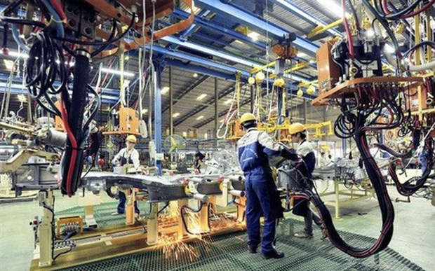 Vietnamese manufacturing continues recovery in October hinh anh 1