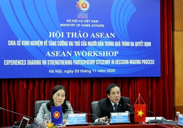 ASEAN workshop: Public role in policy making on table hinh anh 1