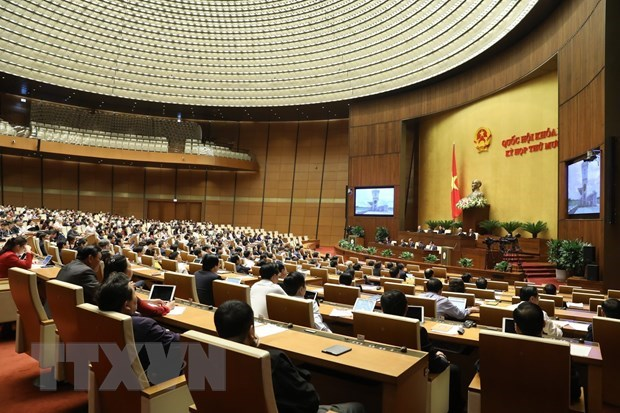 Lawmakers continue discussions on socio-economic issues hinh anh 1