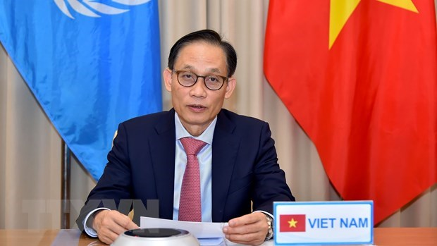 Vietnam stresses need to observe law of the sea at UNSC's open debate hinh anh 1