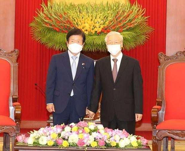 RoK media highlight NA Speaker's visit to Vietnam hinh anh 1