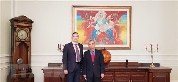 Ukrainian Deputy FM hails ties with Vietnam hinh anh 1