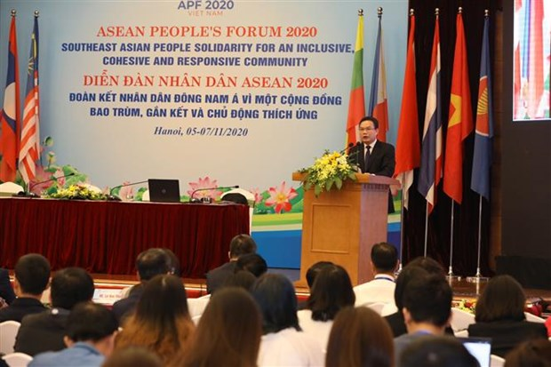 ASEAN People's Forum 2020 kicks off hinh anh 1