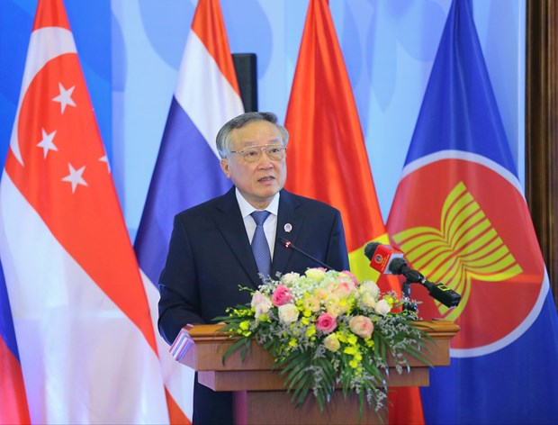 Council of ASEAN Chief Justices holds online meeting hinh anh 1