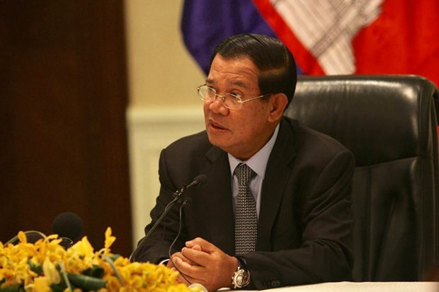 Cambodian Prime Minister Hun Sen negative for coronavirus hinh anh 1