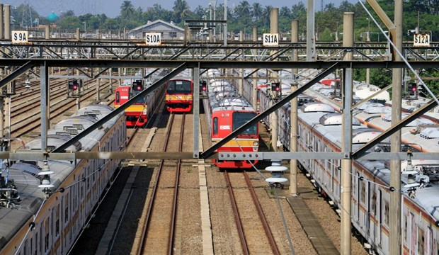 Indonesia's railway operator records 163.6 mln USD loss in September hinh anh 1