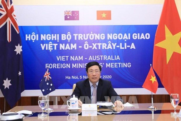 Australia wants to set up comprehensive strategic partnership with Vietnam: FM hinh anh 1