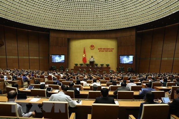 Sustainable development high on agenda at NA's 10th sitting hinh anh 1