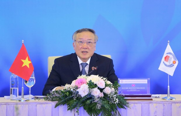 Nguyen Hoa Binh elected as President of Council of ASEAN Chief Justices hinh anh 1
