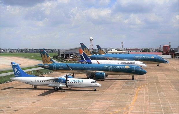 Vietnam Airlines adjusts flight schedules in anticipation of Storm Goni hinh anh 1