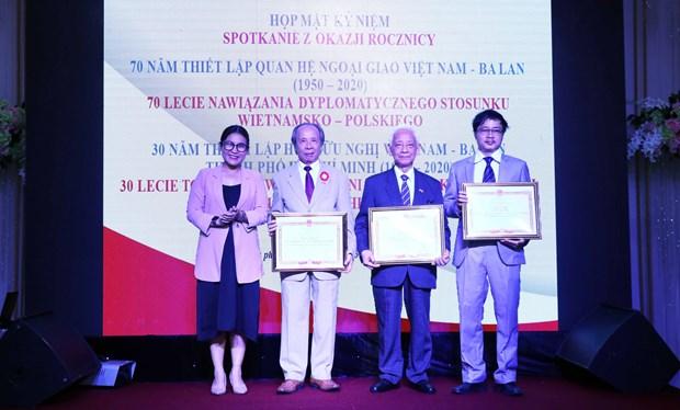 Gathering celebrates 70 years of Vietnam-Poland diplomatic ties hinh anh 1