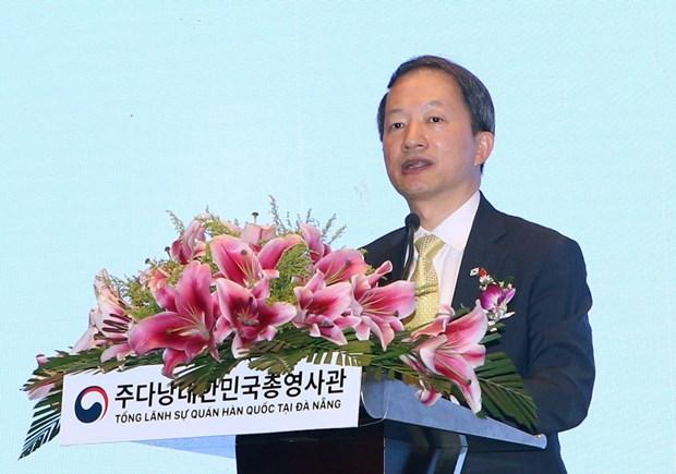 RoK officially opens Consulate General in Da Nang hinh anh 1