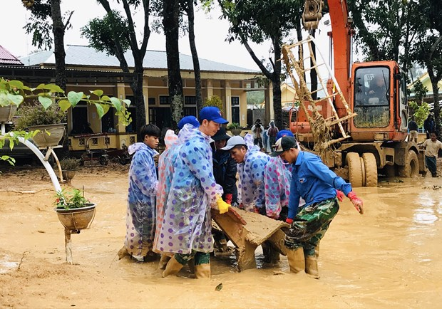 Foreign leaders extend sympathies over floods in central region hinh anh 1