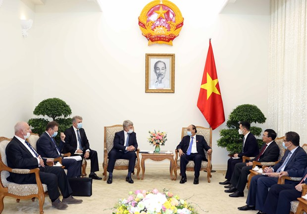 PM highlights big opportunities for Russian investors in Vietnam hinh anh 1