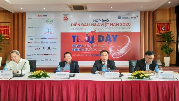 Vietnam's 2020 M&A value to halve to 3.5 billion USD due to pandemic hinh anh 1