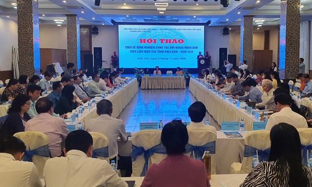 Southern localities share experience in people-to-people diplomacy hinh anh 1