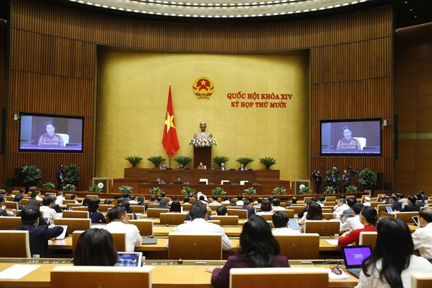 Parliament continues Q&A activities on November 9 hinh anh 1