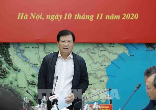Deputy PM orders quick response to Etau, Vamco storms hinh anh 1