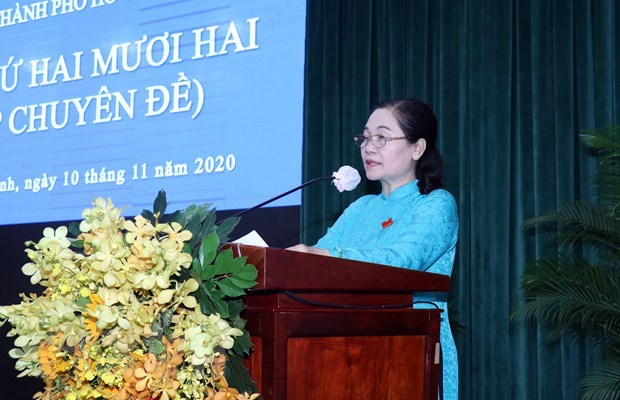 HCM City People's Council adopts development resolutions hinh anh 1