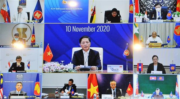 Implementation of Vietnam's initiatives to ASEAN Economic Community reviewed hinh anh 1