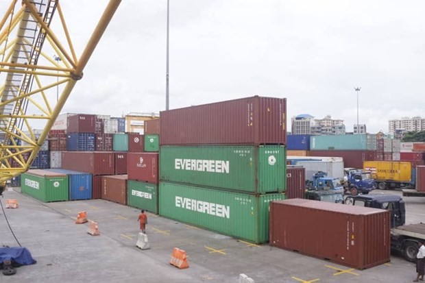Myanmar's foreign trade tops 2 billion USD in October hinh anh 1